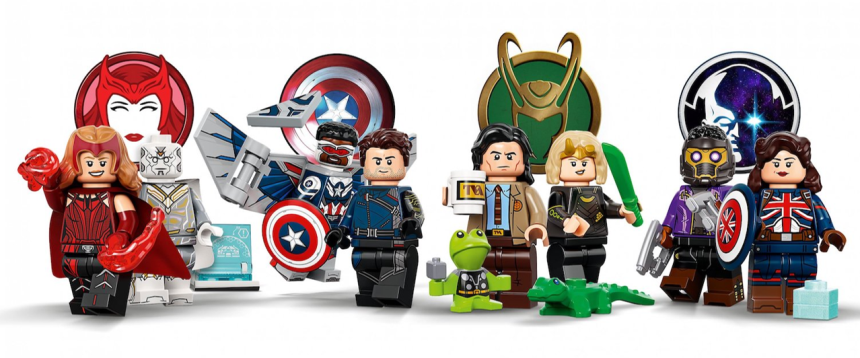 Marvel Collectible Minifigures revealed