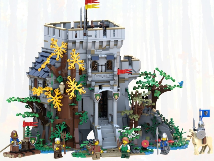 Castle in the Forest from round one of the BrickLink Designer Program,