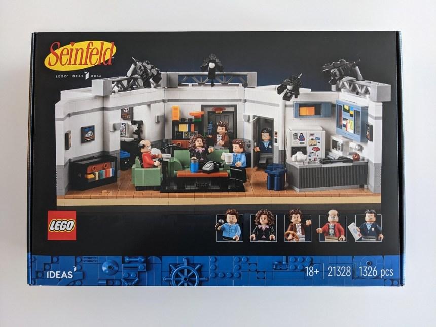 LEGO® Ideas Seinfeld (21328) box art