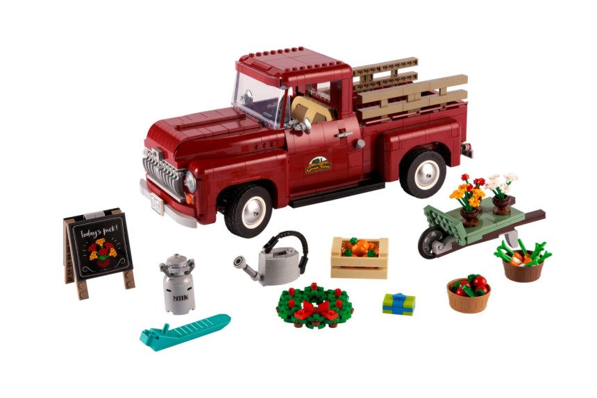 Pickup Truck Coming Soon from the LEGO Group.