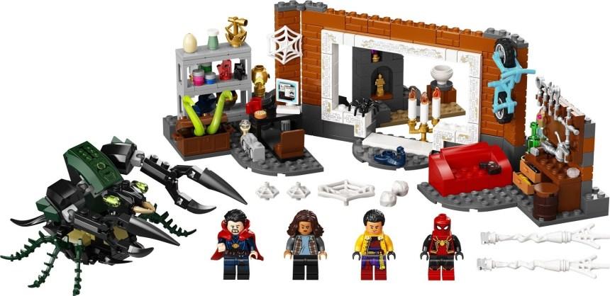 Fall 2021 Spider-Man Sets: Sanctum Workshop