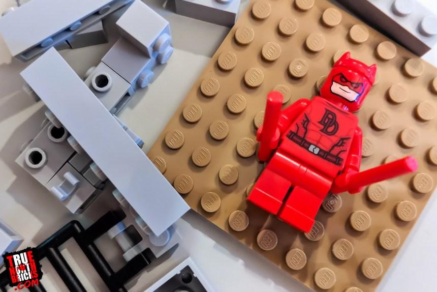 September 2021 LEGO Giveaway sample materials.