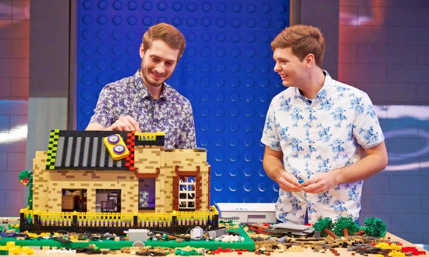 Mark and Steven episode 10 build.