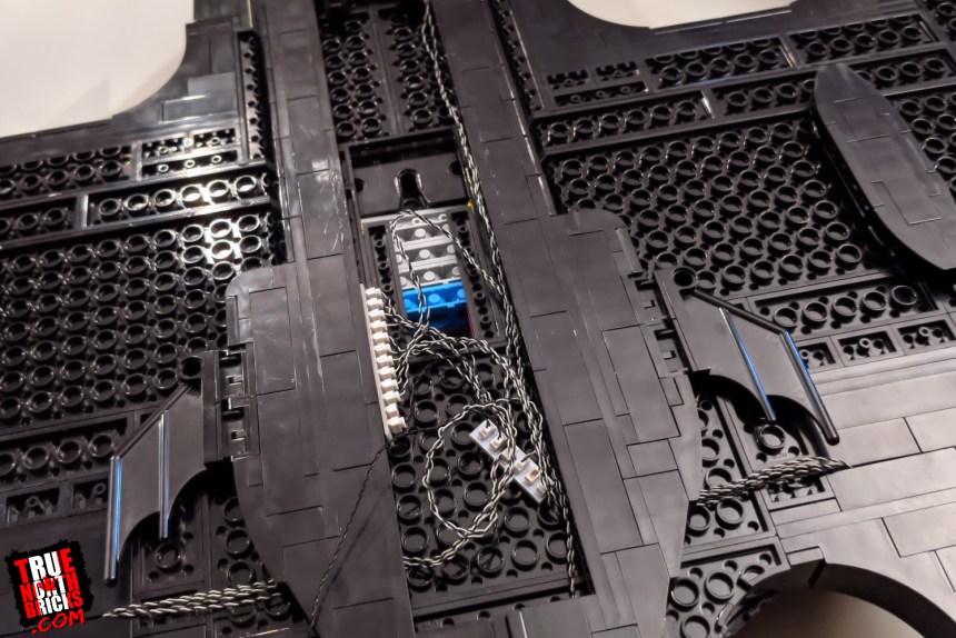 Bricksmax Batwing lighting kit wiring.