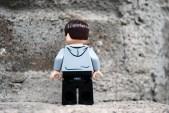 LEGO Jurassic World Zach Rear View