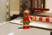 LEGO Robin rear view without cape.