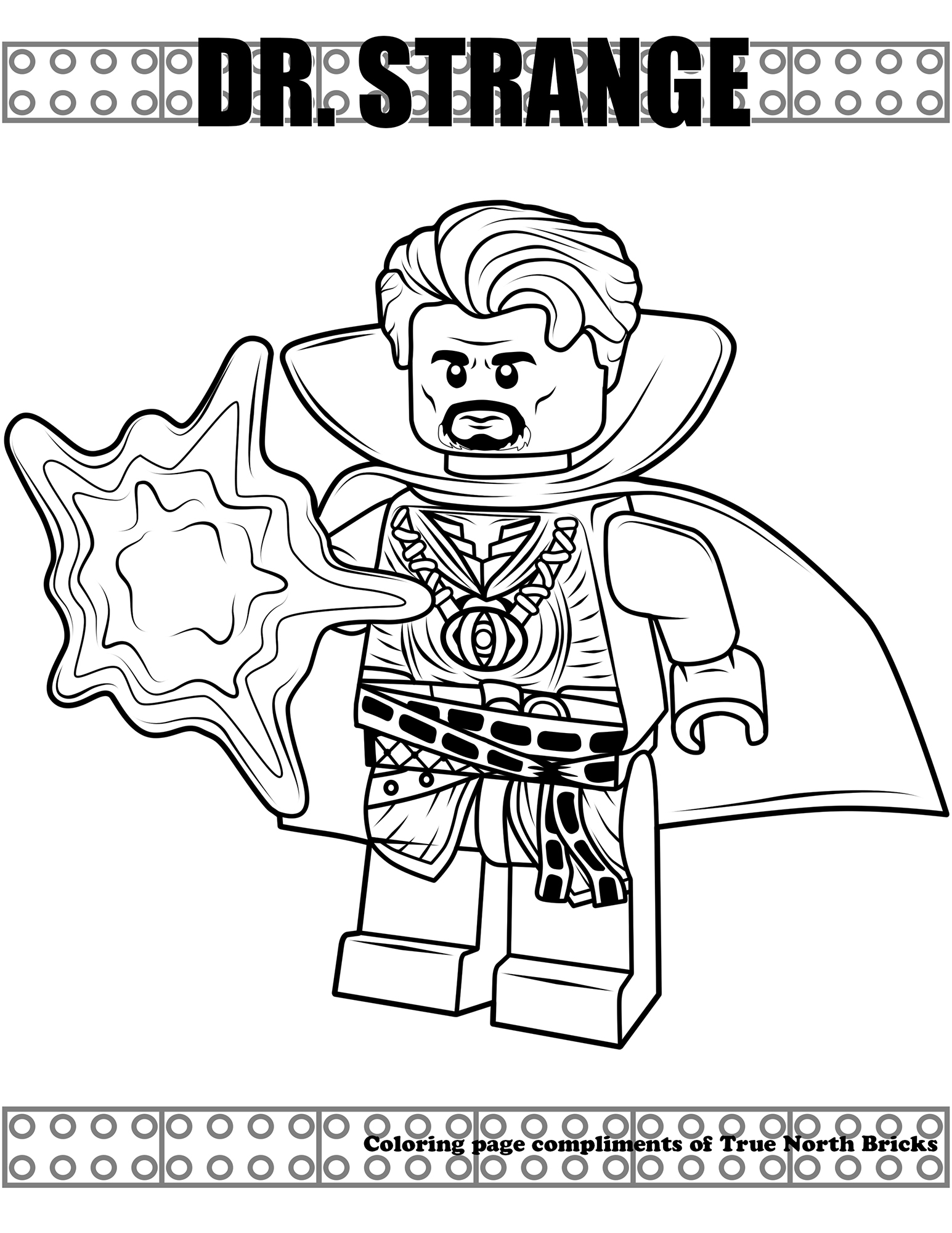 Doctor Strange Coloring Pages