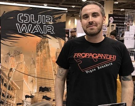 Luke Henderson Toronto Comicon 2018