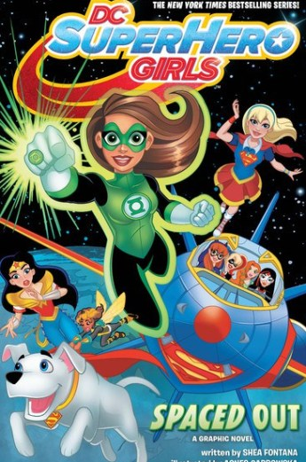 dc superhero girls spaced out