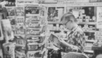spinner rack sepia
