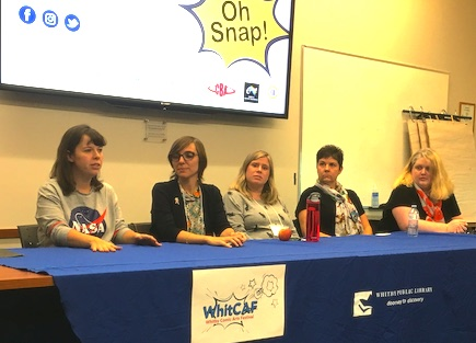 women in comics panel