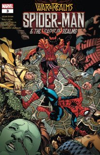 War of the Realms- Spider-Man and the League of Realms 3
