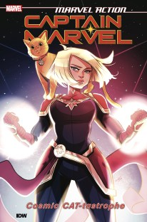 Marvel Action Captain Marvel Vol 1 Cat-tastrophe TP