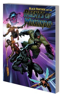 Black Panther and the Agents of Wakanda Vol 1 Eye of the Storm