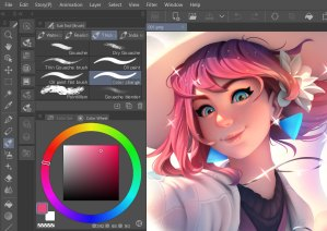 Up to date Interface_CLIP STUDIO