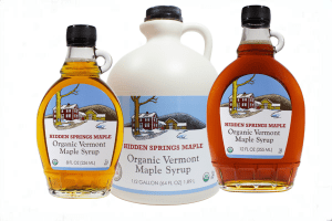 Vermont Maple Syrup from Hidden Spring Maple is used in True North Granola