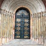 Door way to a church