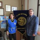 Dr. Waldo Wilches, President of Club Rotario Cuenca Yanuncay and his wife Nedea Wilches.