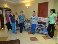The Ward nurse team.
