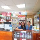 Santa Ines pharmacy staff have welcomed the team and supplied drugs to the ward and OR. Wherever possible, the team supports local business.