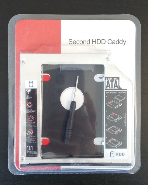 HDD Caddy Front