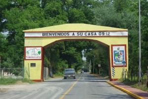 Entrance to Galeana, NL, Mexico