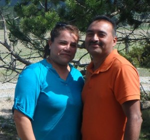 Sandra and Juan are a fun couple who love the Lord.