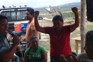 Pastor Reynaldo's Mom was one who found relief through prayer.