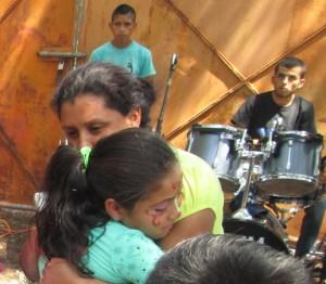 Pera (Pastor Jose's wife) gave loving hugs too.