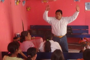 Evangelist Ramiro delivered a powerful sermon.