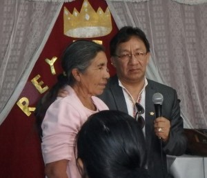 Pastor Reynaldo's Mother was healed from serve headaches.