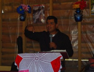 Pastor Jose preached a powerful message.