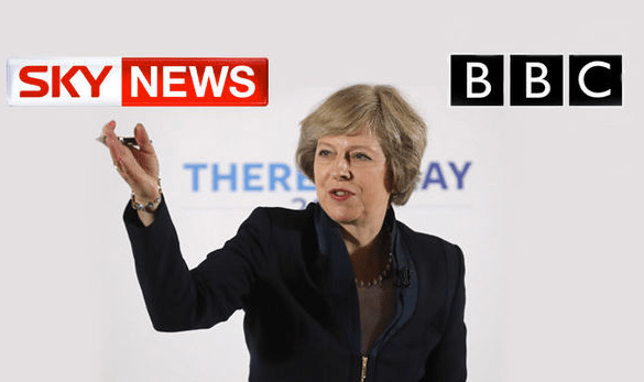 Media Can't Hide That They're in Bed With Theresa May