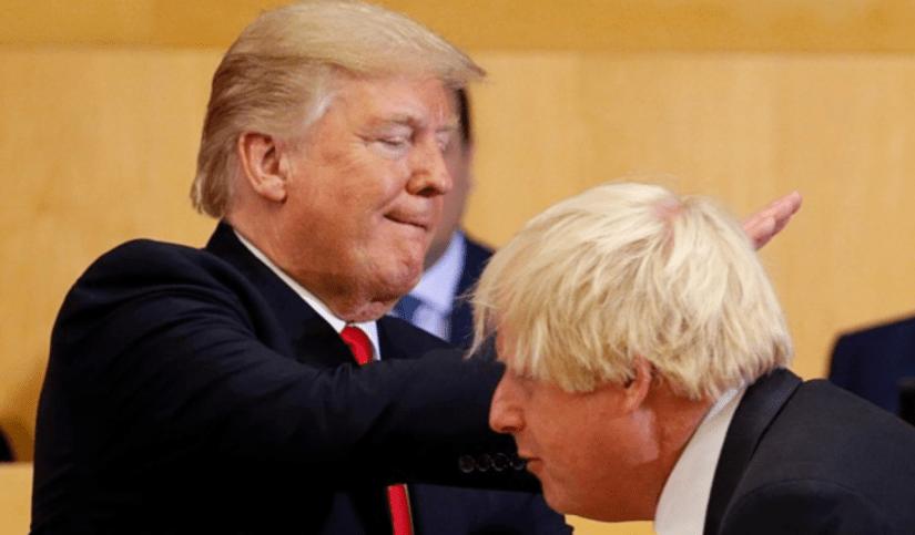 Johnson censors British press at UN Summit