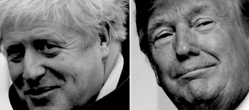 Johnson starts alignment with Trump's America on military, defence and foreign policy