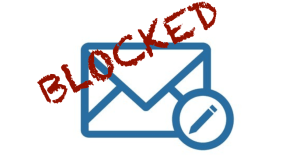 Blocked from sending our weekly newsletter