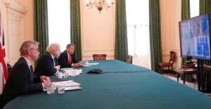 Johnson's 'high-level' EU meeting