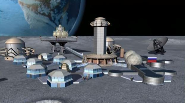 Russian Moon Base
