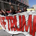 Flag burning threatens to fuel tensions outside Convention