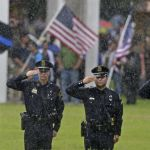 Shooting deaths of police up 78% this year