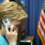 Hillary Phones It In: Clinton calls Louisiana governor to discuss floods