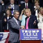 Nigel Farage at Trump Rally: 'Anything Is Possible' When Decent People 'Stand Up Against the Establishment'