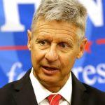 U.S. Election So Nuts I Just Might Win, Libertarian Johnson Says