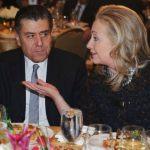 Hillary Collects Hollywood Cash at Haim Saban's Beverly Hills Mansion