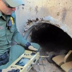 Tunnel discovered under U.S.-Mexico border
