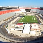 This Football Stadium Inside A NASCAR Track Has America Written All Over It