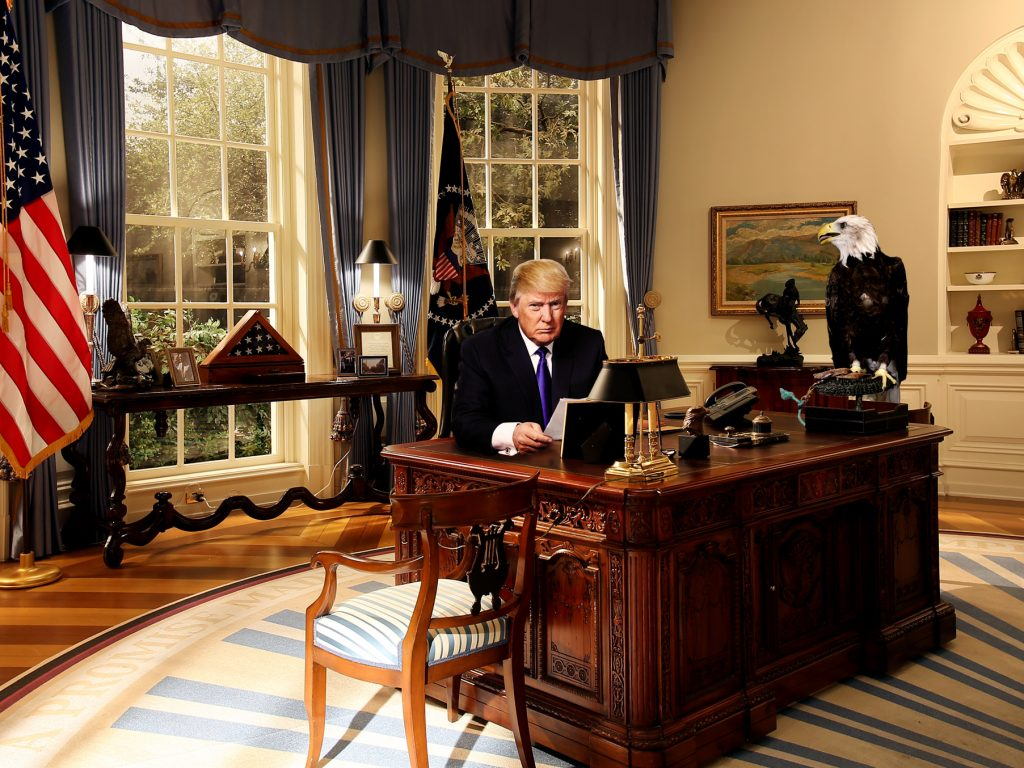 Trump Oval Office Renovation Trump Hillary Would Put Oval Office Up For Sale True