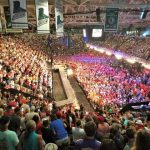 HOME STRETCH: Donald Trump Packs Arena, Hillary Draws 200 at Dueling Events