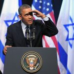 Obama urges Israel end occupation and Palestinians accept Israel