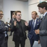 OUT OF TOUCH: Bono praises Canada as being a 'leader' of global community